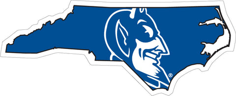 Duke State Vinyl Decal- 3""