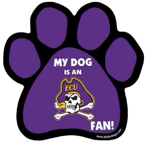 ECU Pet Paw Magnet