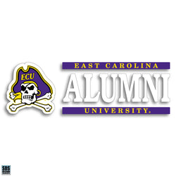 ECU Alumni Vinyl Decal