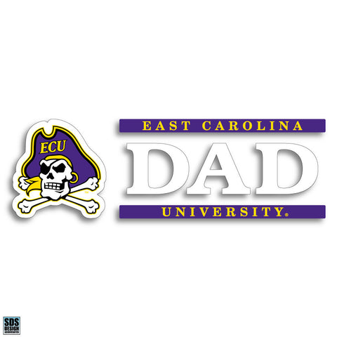 ECU Dad Vinyl Decal