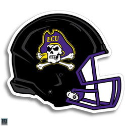 ECU Football Helmet Magnet