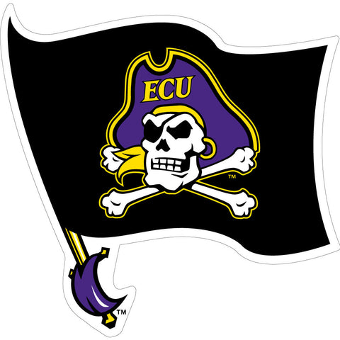 "ECU Black Flag Decal (3"")"