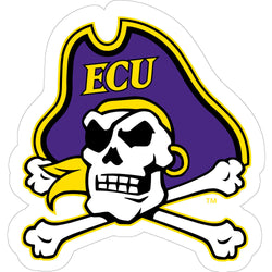 ECU Jolly Roger Vinyl Decal