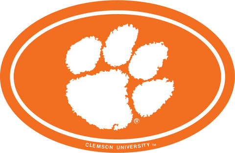 Clemson Oval Orange Magnet