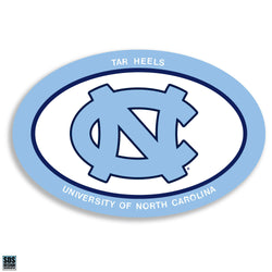 UNC Interlock Oval Magnet