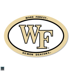 "Wake Forest Euro ""WF"" Magnet"