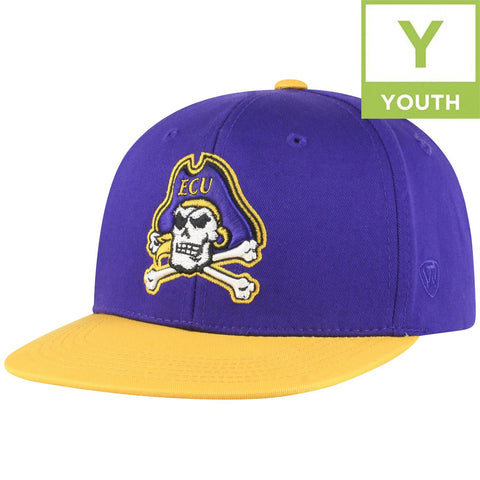 ECU Maverick Adj. Youth Hat