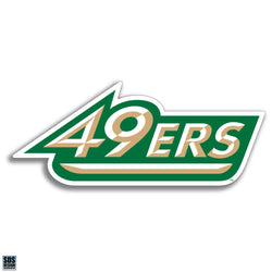 "UNCC ""49ers"" Vinyl Decal (6"")"