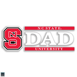 NC State Dad Decal