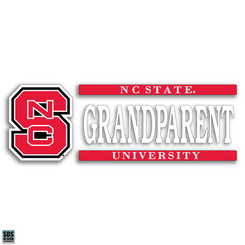 NC State Grandparent Decal