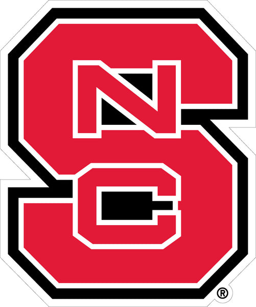 NC State Interlock Decal