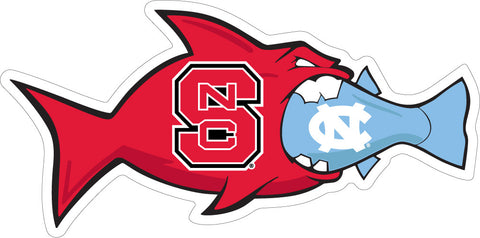 NC State/UNC Rival Fish Magnet