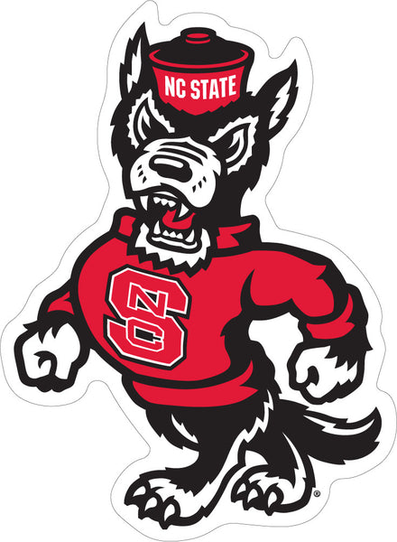 NC State Strutting Wolf Decal
