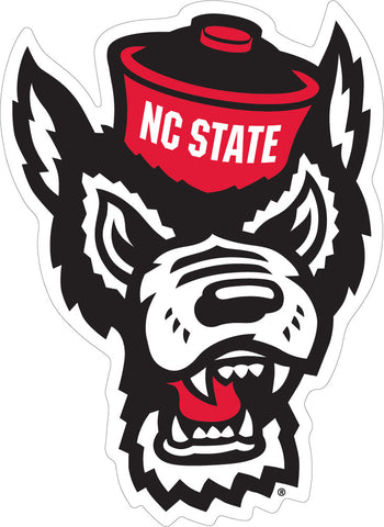 NC State Wolf Head Decal