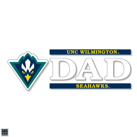 UNCW Dad Decal