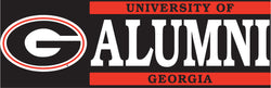 Georgia Alumni Vinyl Decal