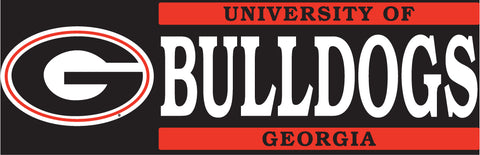 Georgia BULLDOGS Vinyl Decal