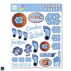 UNC Sticker Sheet (Basketball)