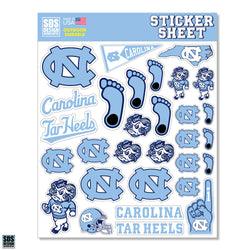 UNC Sticker Sheet