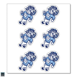 UNC Strutting Ram Vinyl Decals (Pack of 6)