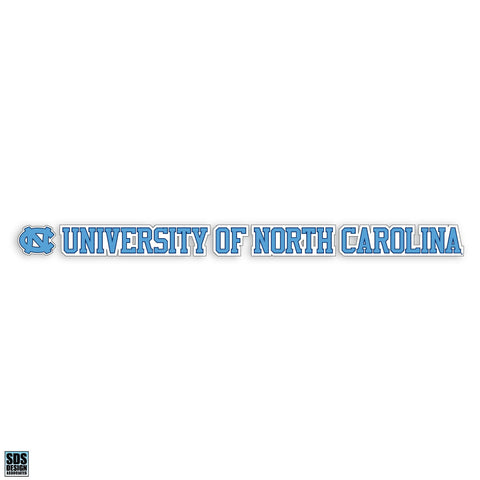 "UNC 20""x 2"" Text Decal"
