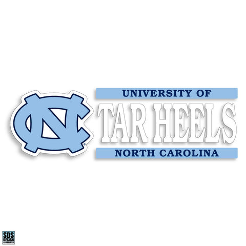 "UNC ""TARHEELS"" Decal"