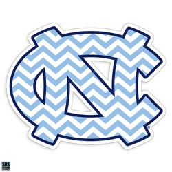 UNC Interlock Decal (Chevron)