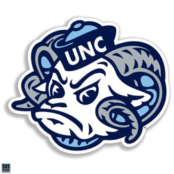 UNC Ram Head Decal