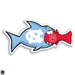 UNC/NC State Rival Fish Magnet