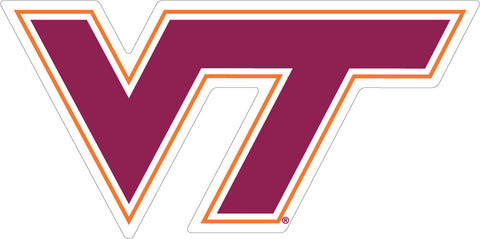 "Virginia Tech ""VT"" Vinyl Decal"