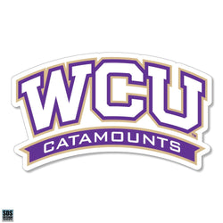 WCU Catamounts Decal
