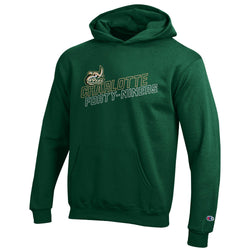 UNCC Champion Youth Hooded Sweatshirt