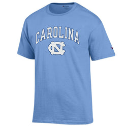 UNC Champion Arched Logo S/S Tee