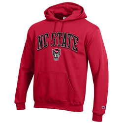 NC State Champion Arched Wolf Hooded Sweatshirt