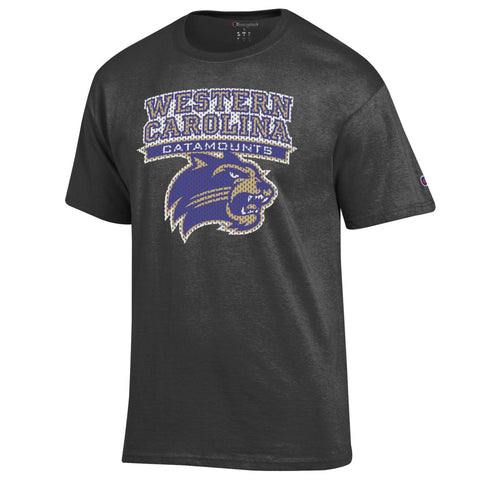 WCU Men's Champion S/S Tee (Granite Heather)