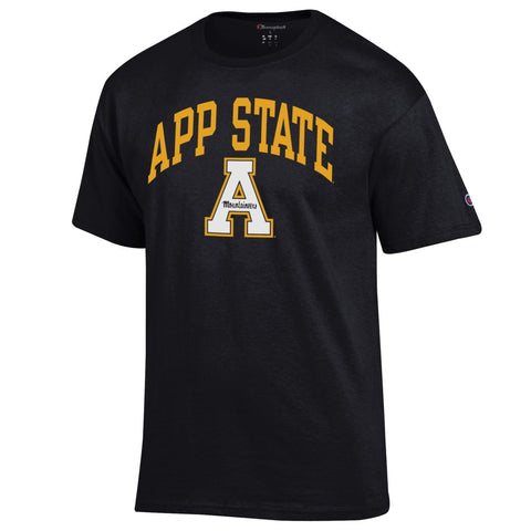 Appalachian Champion Arched Logo S/S Tee