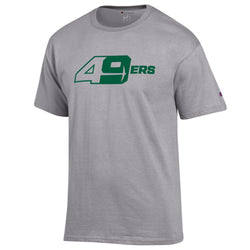 "UNCC Champion ""49ers"" S/S Tee (Oxford Grey)"