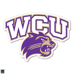 WCU Arched Mascot Decal