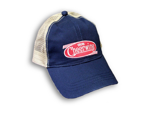 Cheerwine - Navy Trucker Hat