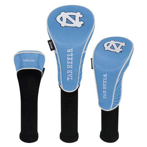 UNC Headcovers (Set of 3)