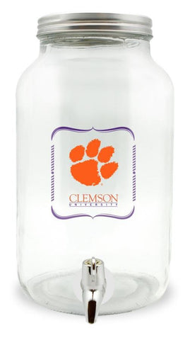 Clemson Sun Tea Glass Jar