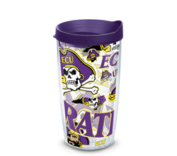 ECU 16 oz. All Over Wrap Tumbler