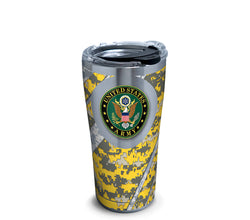 Army 20 oz. Stainless Steel Tumbler