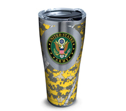 Army 30 oz. Stainless Steel Tumbler