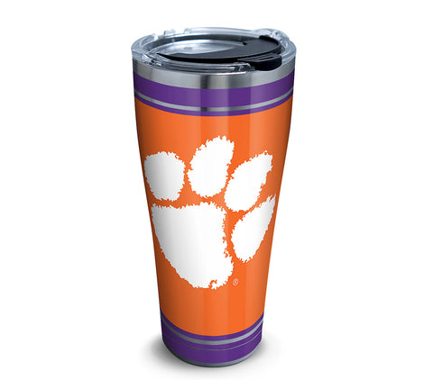 Clemson 30 oz. Campus Stainless Steel Tumbler