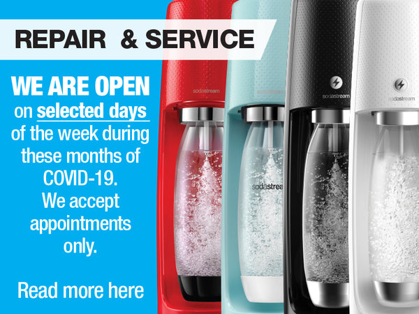 (Updated June 10th 2020) SODASTREAM OPERATIONS UPDATES DURING COVID-19 IN SINGAPORE