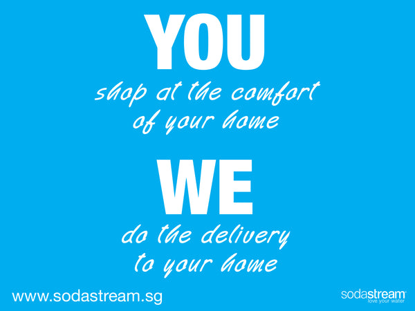 HOME DELIVERY SODASTREAM SINGAPORE