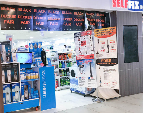 NEW PARTNER STORE: SELFFIX DIY SELETAR MALL
