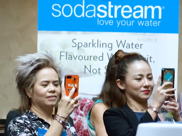 Actress Adele Wong Loves SodaStream!
