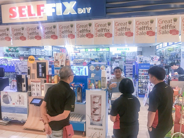 NEW PARTNER STORE: SELFFIX DIY CENTREPOINT